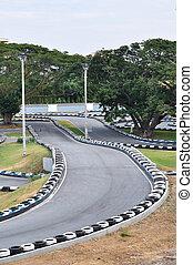 行きなさい, racecourse, kart