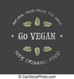 行きなさい, vegan, アイコン