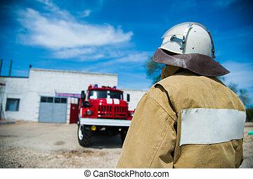 行動, 消防士