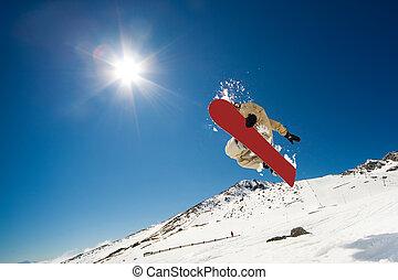行動, snowboarding