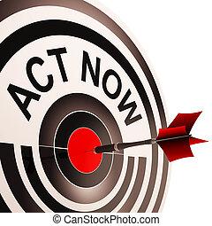 行為, 動機を与えなさい, 促しなさい, 今, 手段