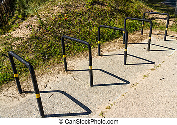 行, ......的, 自行車, 自行車, 齒條