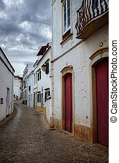 街道, 在, alte, 村莊