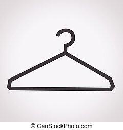 衣服の ハンガー, アイコン