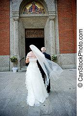衣服, 婚禮