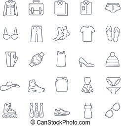 衣服, 矢量, 圖象, 股票