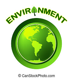 表す, 地球, 環境, 緑, 行きなさい, 地球