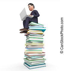 表す, 株式会社, 探索, 教育, ビジネス, ビジネスマン