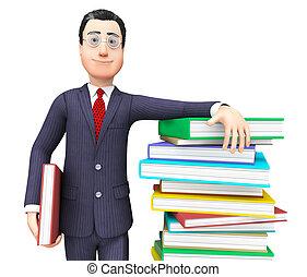 表す, 知識, 情報, 教科書, 列車, ビジネスマン