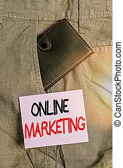 表示法, チャネル, オンラインで, leveraging, ビジネス, paper., ブランド, 中, 網, について, 前部, 執筆, 小さい, companys, ポケット, 写真, 札入れ, 基づかせている, メモ, trouser, showcasing, 提示, 広がり, marketing.