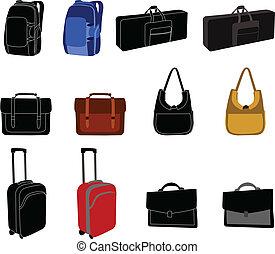 袋, コレクション