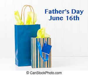 袋, デイの父親となる, 贈り物