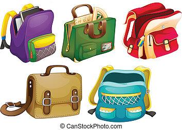 袋, 学校