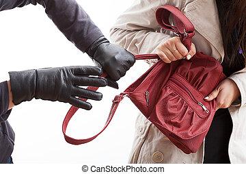 袋, 泥棒, 保有物