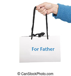 袋, 父, 贈り物