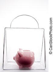 袋, 貯金箱