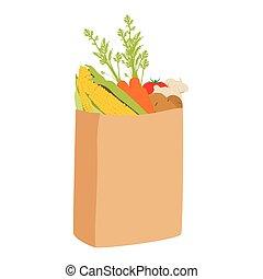 袋, 買い物, eco