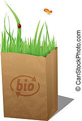 袋, bio