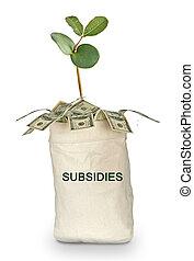 袋, subsidies