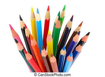 被給上色鉛筆