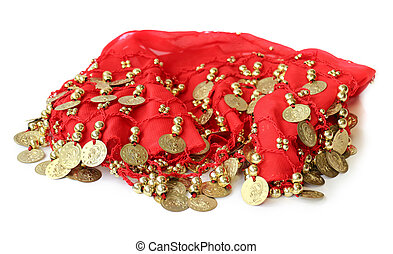 被縫, 織品, 跳舞, 硬幣, 激情, 肚子, 裙子