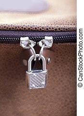被鎖, zipper.