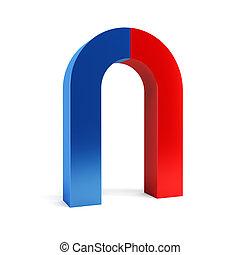 被隔离, two-colored, 磁鐵