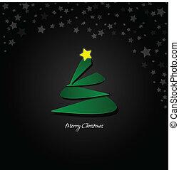 被風格化, 樹, 聖誕節