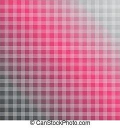 被 chequered, 背景, 在, 熱粉紅色