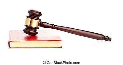 裁判官の年金, 上に, 赤, 法的, 本