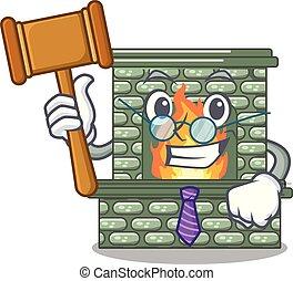 裁判官, マスコット, 暖炉, 隔離された, 贅沢