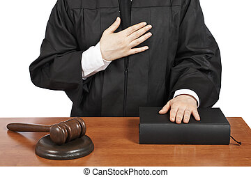 裁判官, 取得, 宣誓, 女性