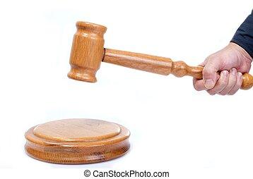 裁判官, 小槌