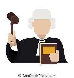 裁判官, 小槌, avatar