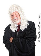 裁判官, 懐疑的, -, イギリス