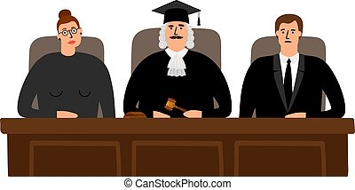 裁判官, 概念, 法廷