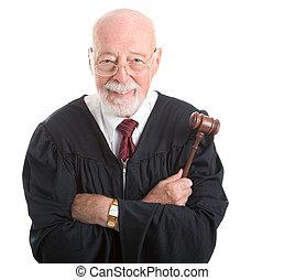 裁判官, -, 種類, 賢い
