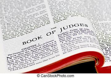 裁判官, 聖書, -, ページ