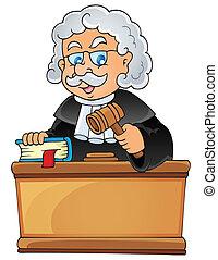 裁判官, 1, イメージ, 主題