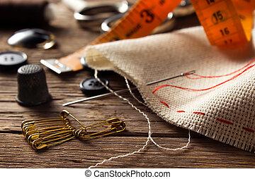 裁縫, 付属品