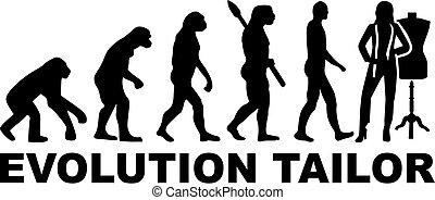 裁縫, 演化