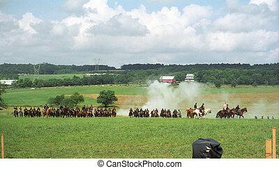 装甲部隊, 充満, 戦争, 市民