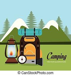 装置, キャンプ, 地域, 現場