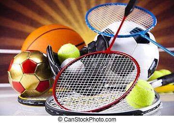 装置, スポーツ, ボール
