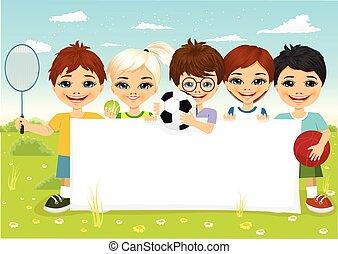 装置, 別, 子供, スポーツ