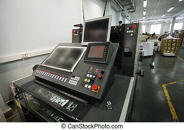 装置, 印刷される