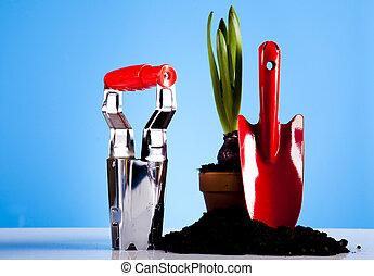 装置, 園芸