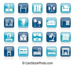 装置, 家, 家具, アイコン