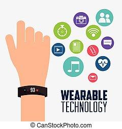 装置, 技術, 電子, wearable, smartwatch