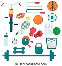 装置, 訓練, スポーツ